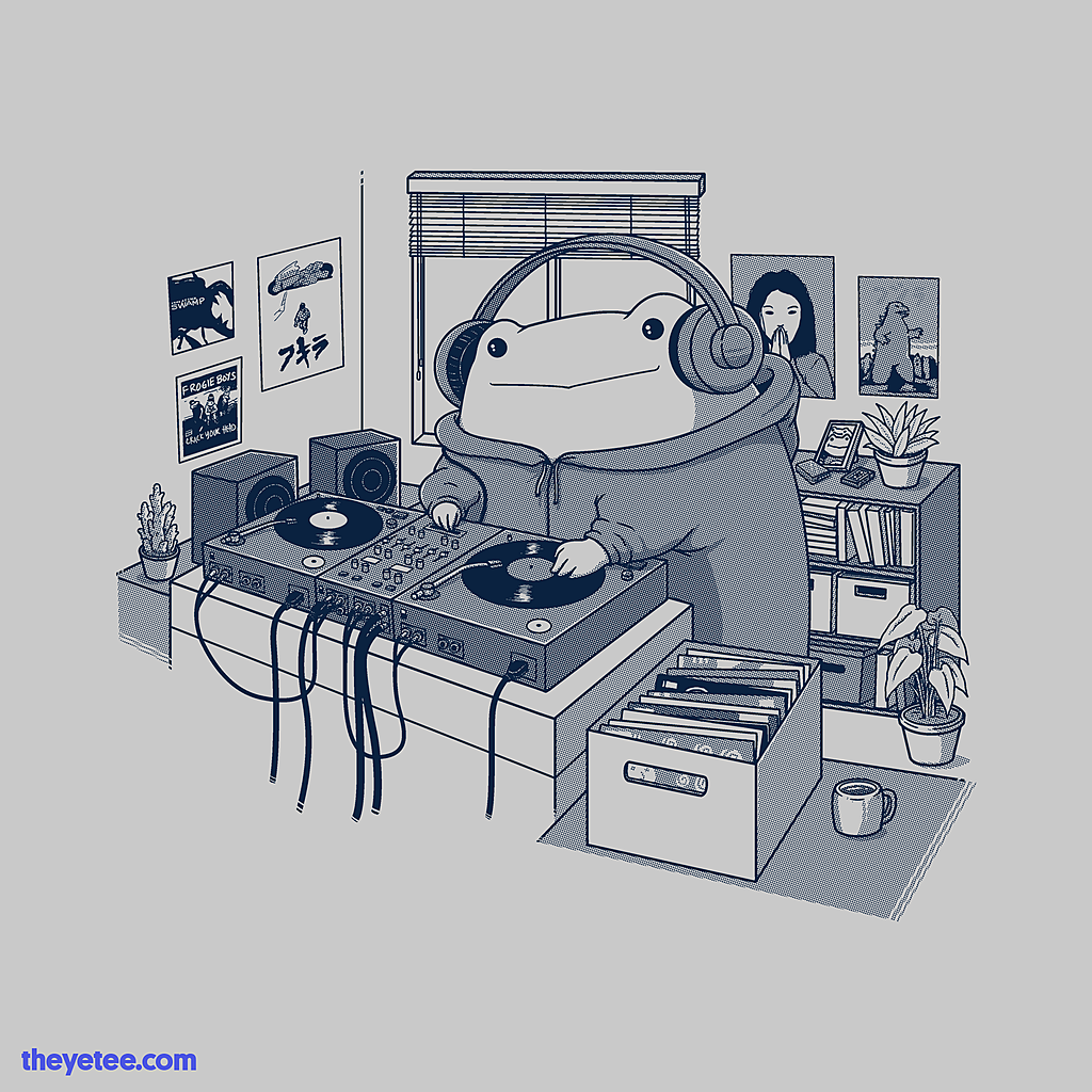 The Yetee: Analog Toad