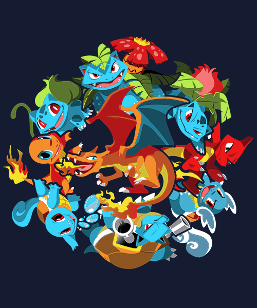 Qwertee: Catch 'Em All