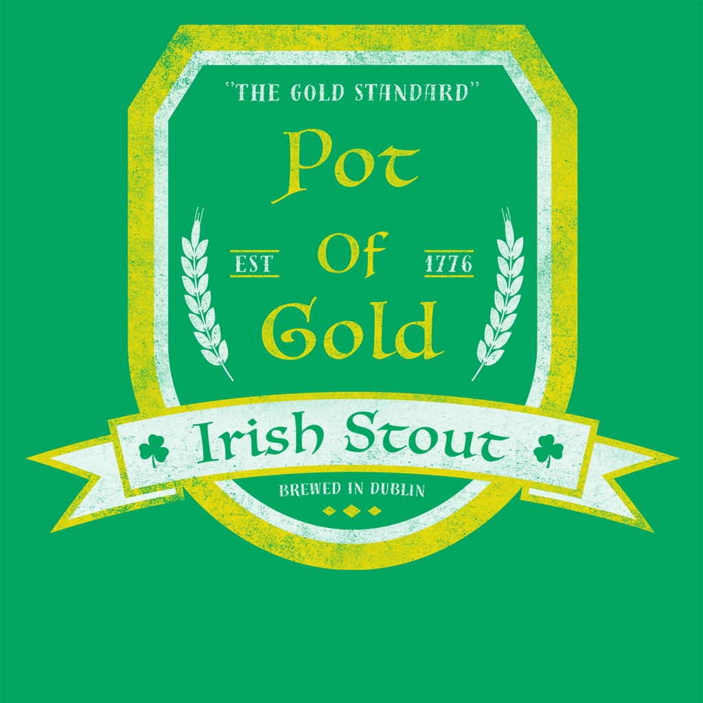 Pop-Up Tee: Pot of Gold Irish Stout
