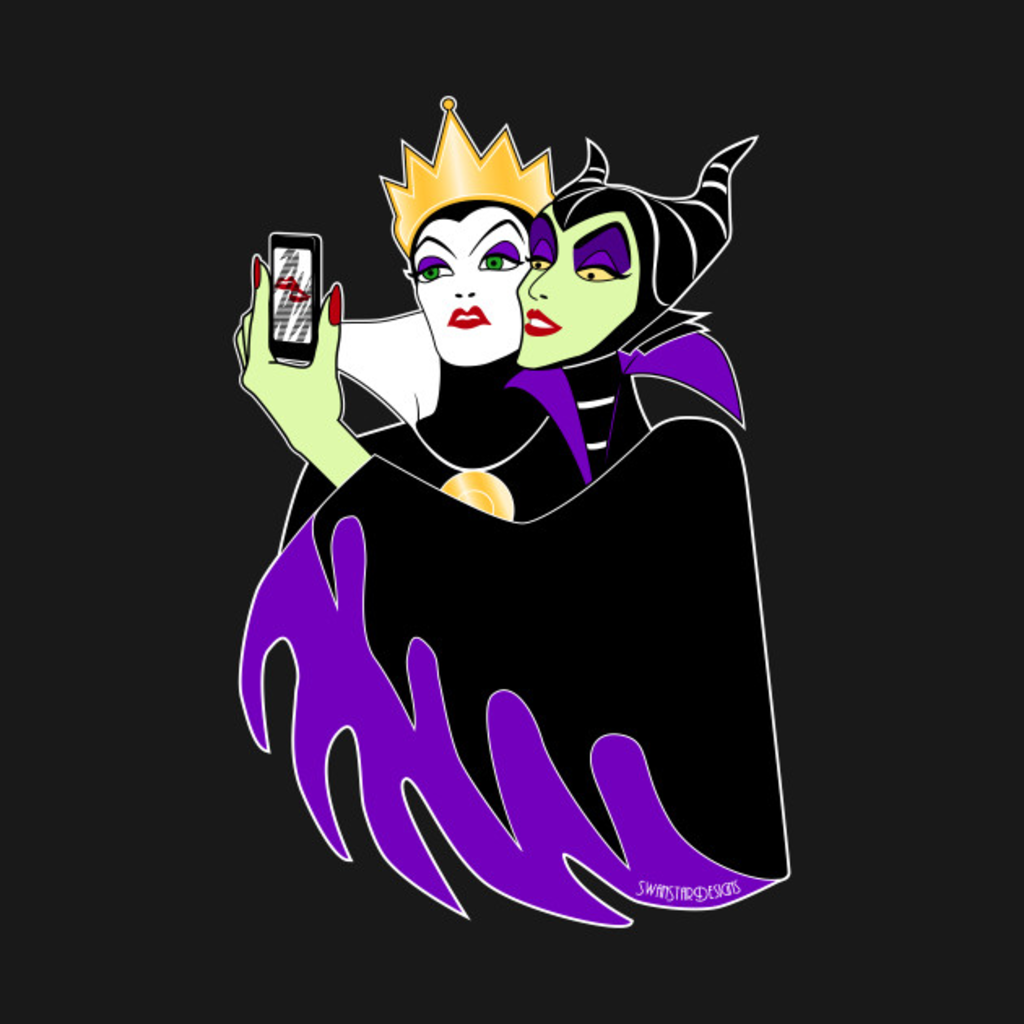 TeePublic: Wicked Selfie