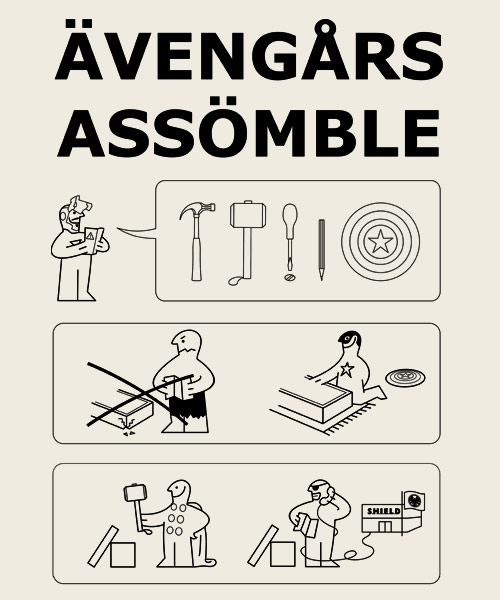 EnTeeTee: Superheroes Assembling