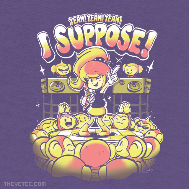 The Yetee: I'm Too Shy, I Suppose