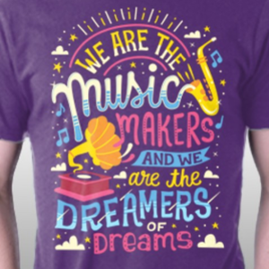 TeeFury: Music Makers & Dreamers