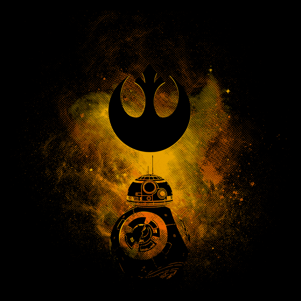Pop-Up Tee: BB-8 Art