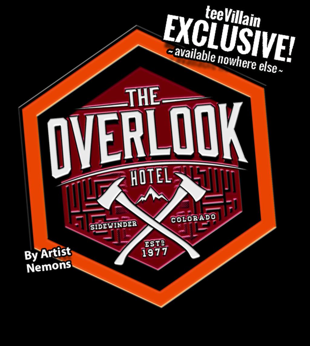 teeVillain: The Overlook Pin