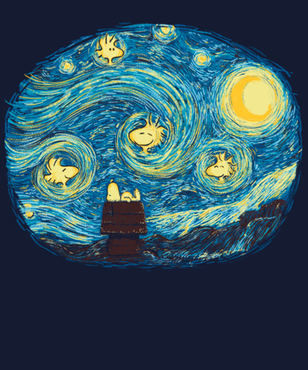 Qwertee: Beagle night