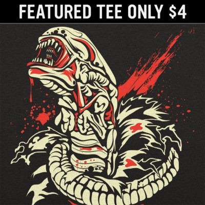 6 Dollar Shirts: Chest Burstin' Alien
