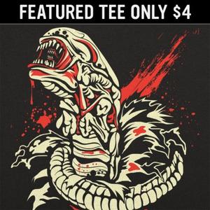 6 Dollar Shirts: Chest Burstin' Alien