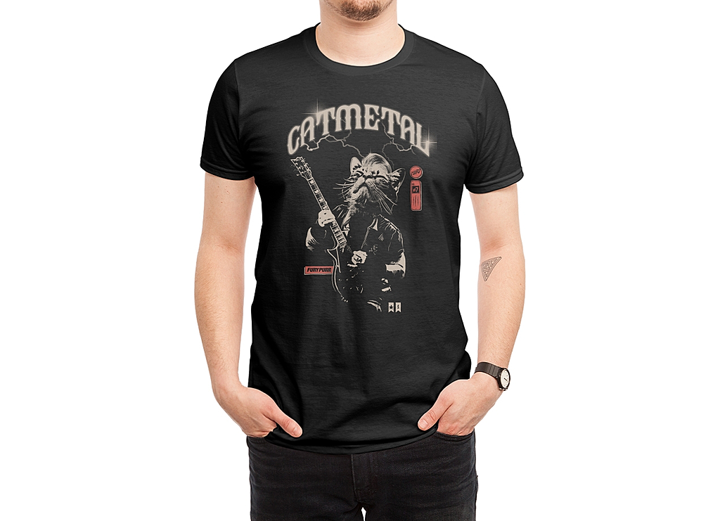 Threadless: Catmetal