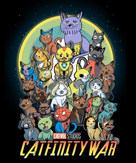 Qwertee: Catfinity War