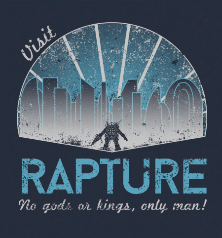 BustedTees: Visit Rapture