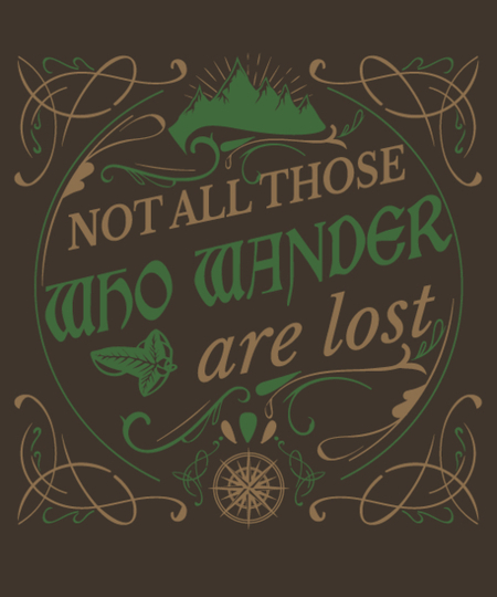 Qwertee: Not All Those Who Wander Are Lost