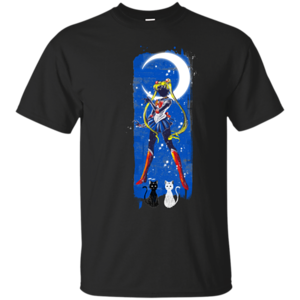 Pop-Up Tee: Inked Moon