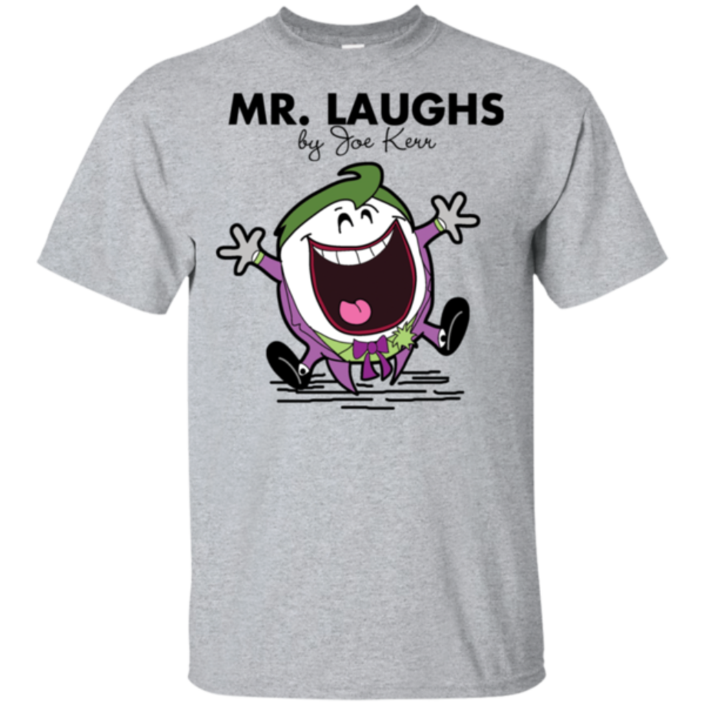 Pop-Up Tee: Mr Laughs