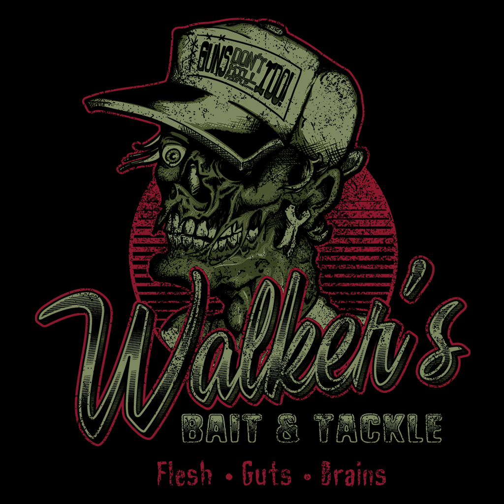 Pop-Up Tee: Walkers Bait N' Tackle