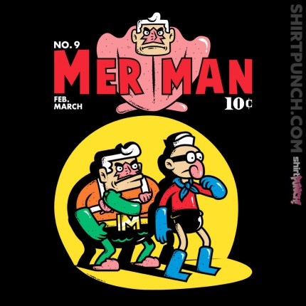ShirtPunch: Merman