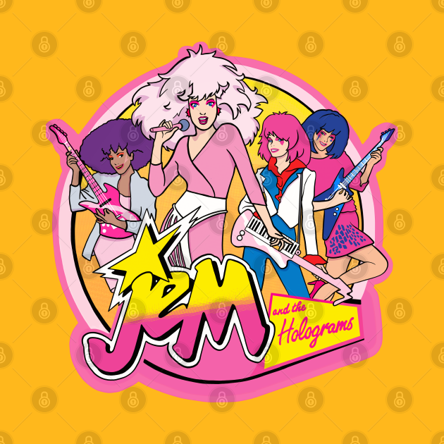TeePublic: Jem and the Holograms