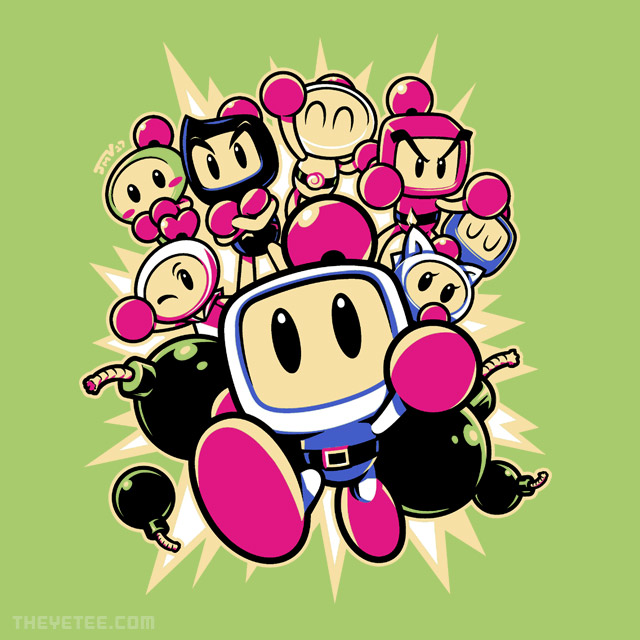 The Yetee: BOMBER BUDDIES