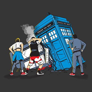 Once Upon a Tee: Time Crash