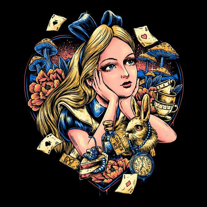 Once Upon a Tee: Curious Heart