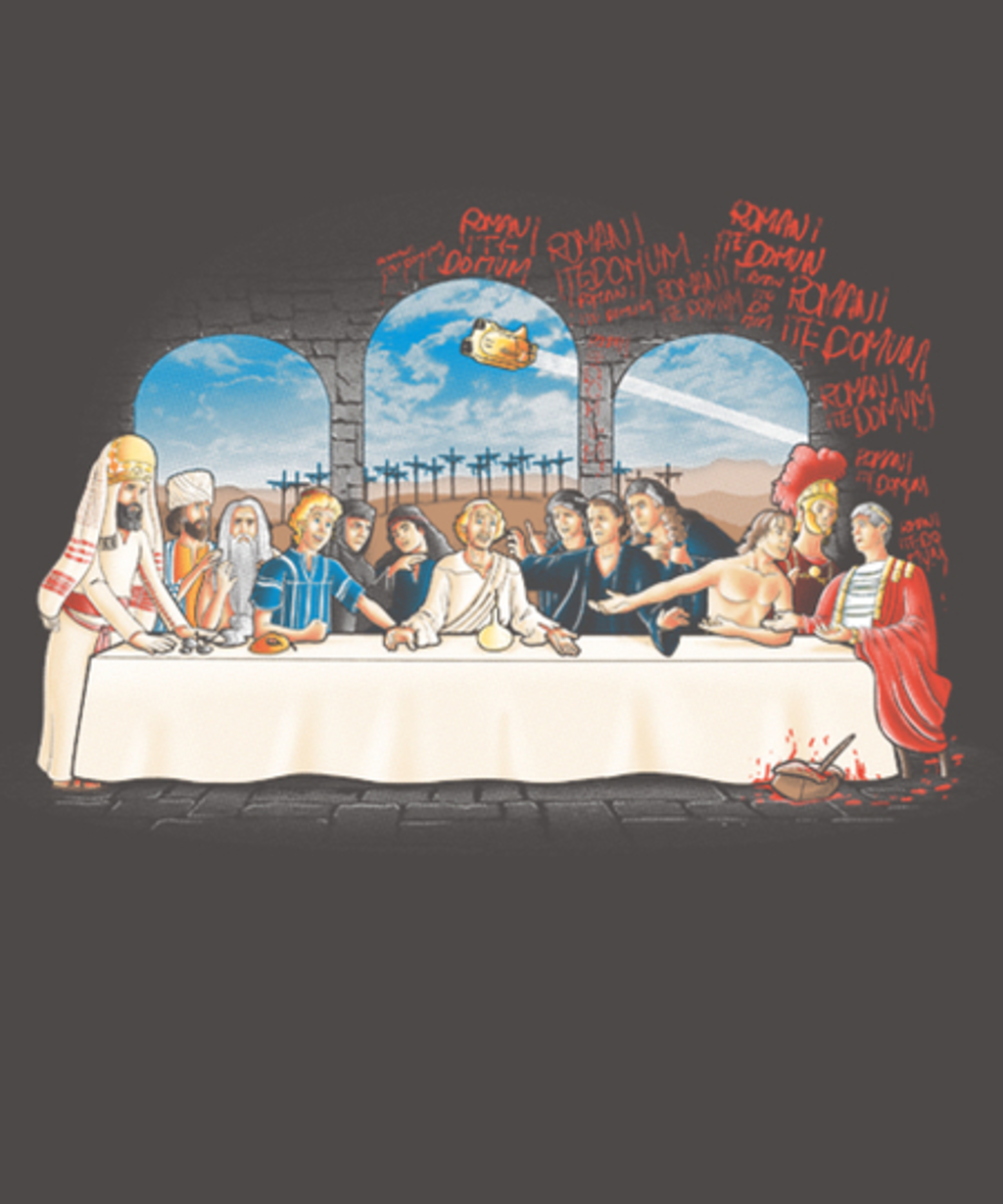 Qwertee: The last dinner of Brian