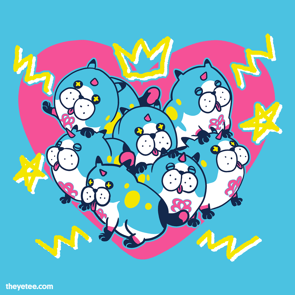 The Yetee: Mystical Cuddle Puddle
