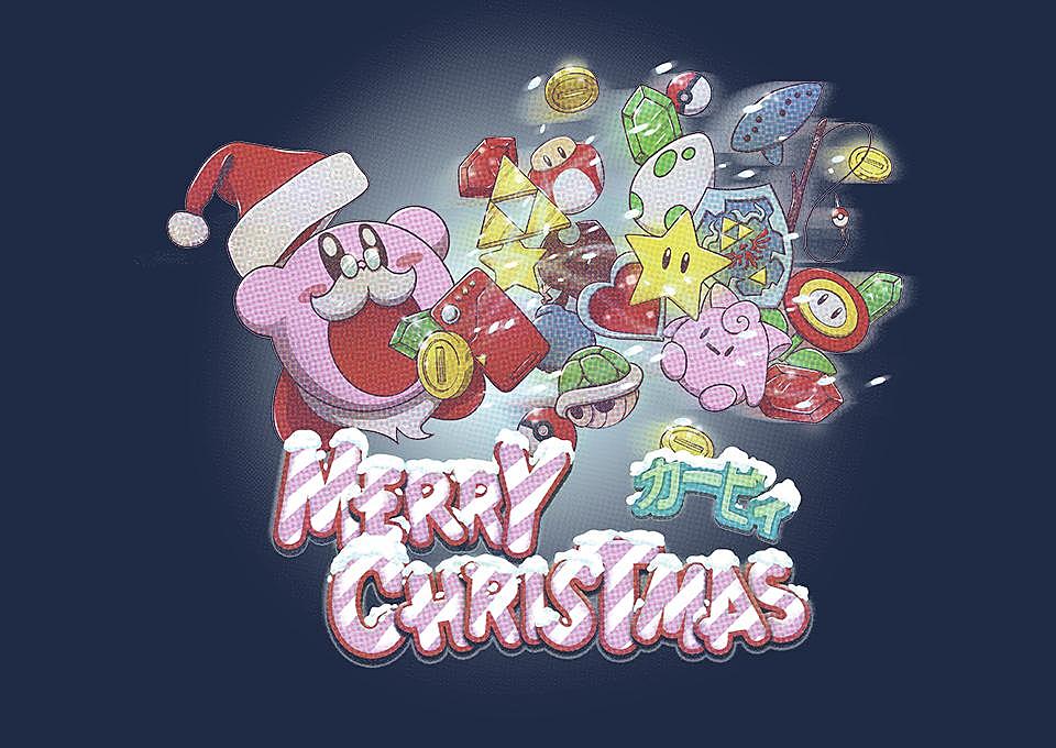TeeFury: Merry Christmas Kirby
