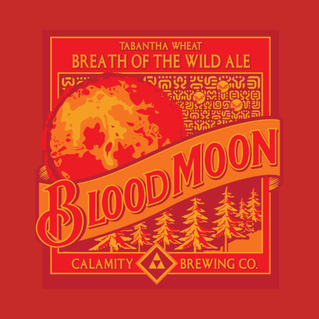 TeePublic: Blood Moon Beer