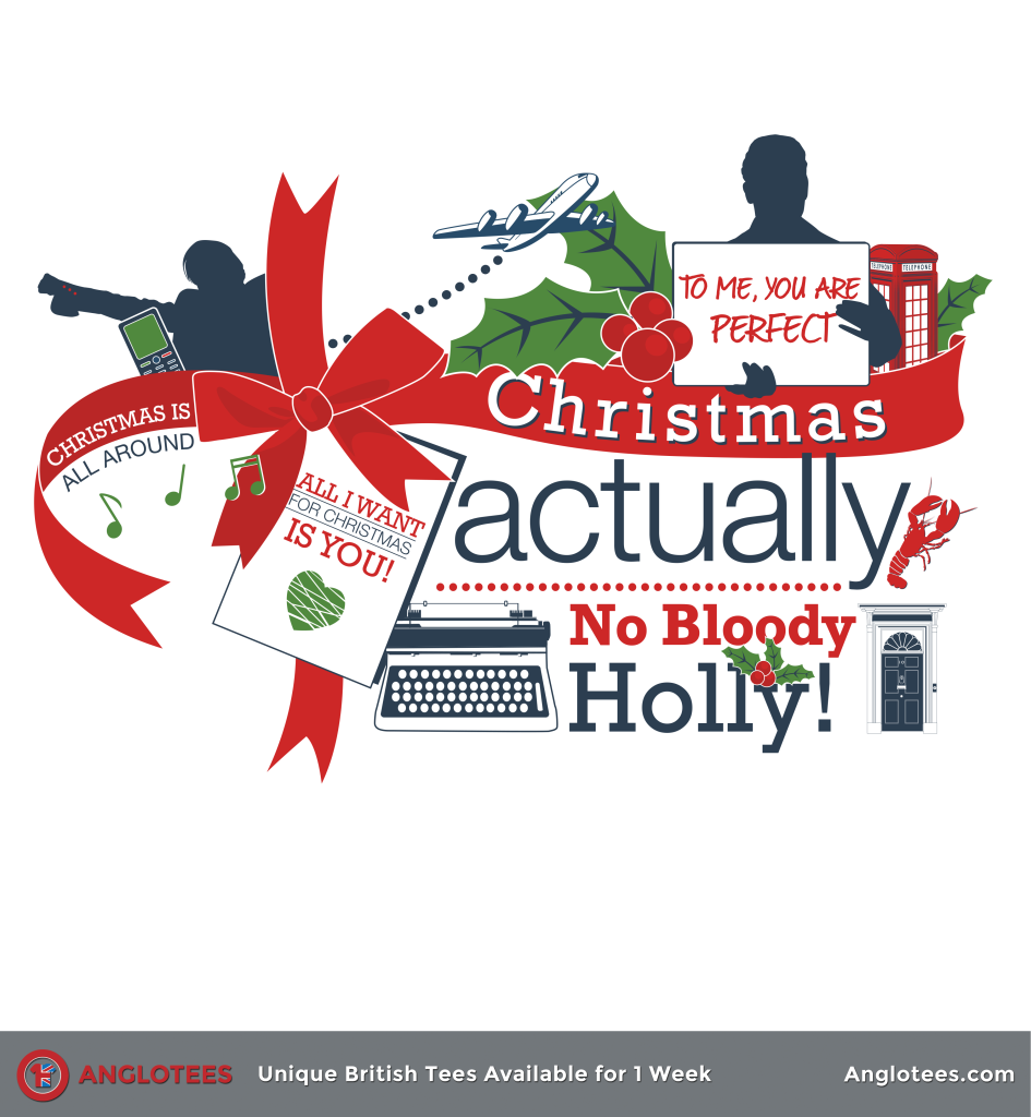 Anglotees: Christmas Actually