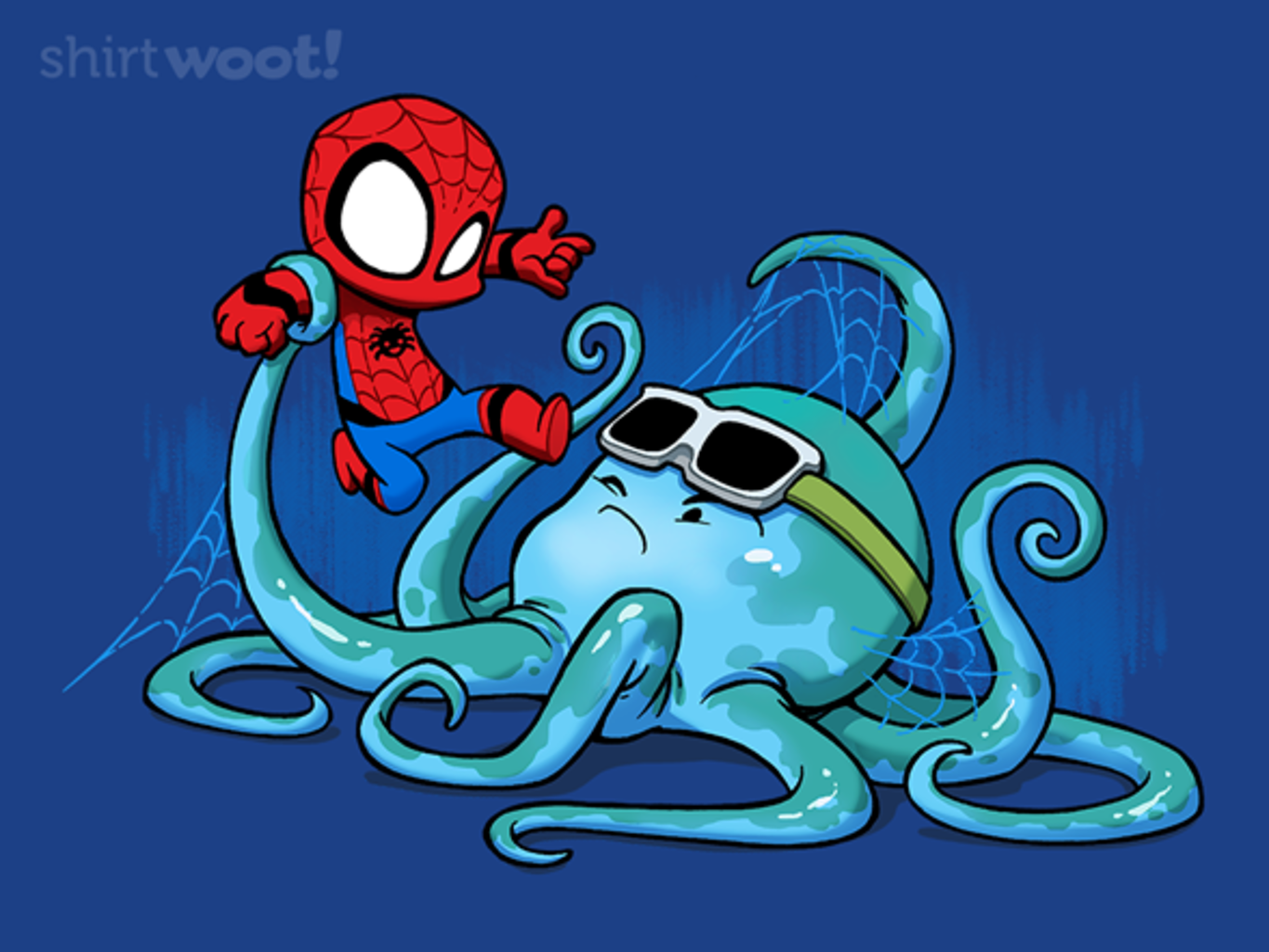 Woot!: Spider Vs Octopus