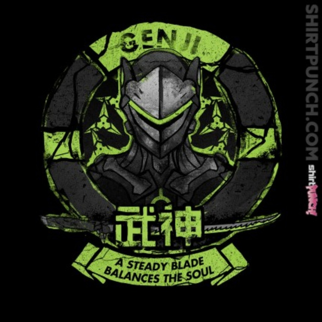 ShirtPunch: Genji Is With You