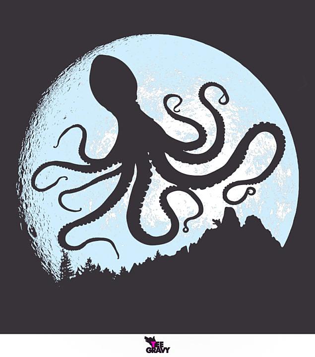 Tee Gravy: Fly Fly Octopus Octopi