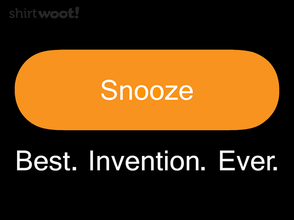 Woot!: Keep Snoozin'