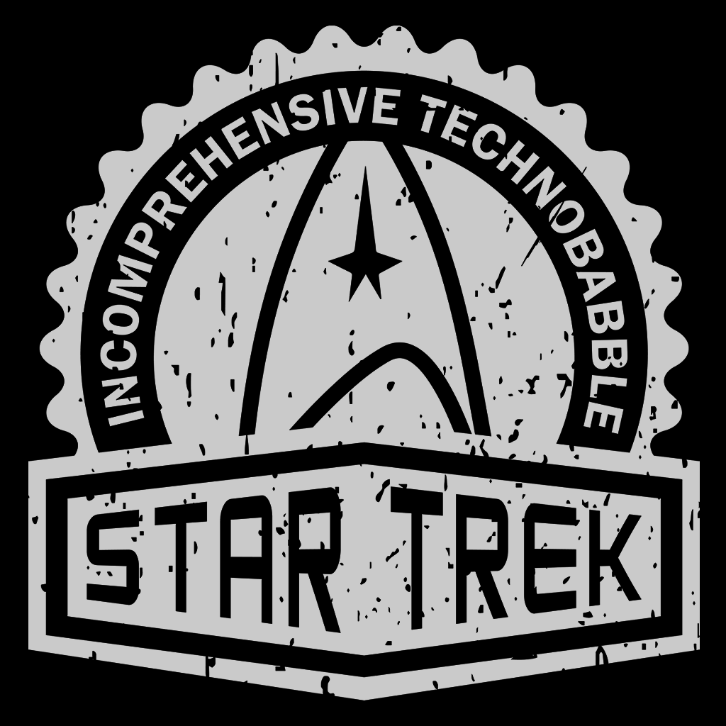Pop-Up Tee: Star Trek Crest