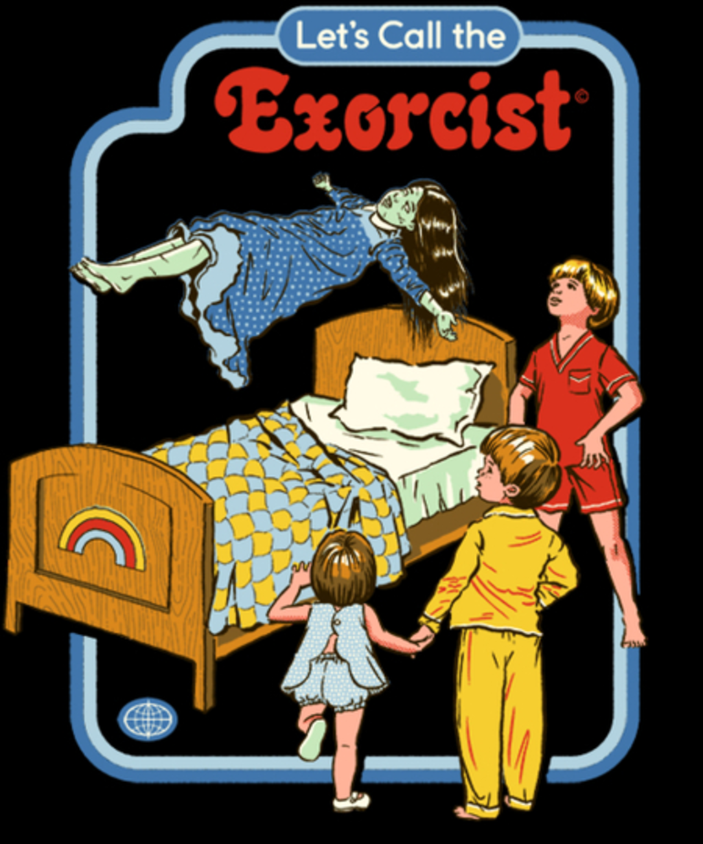 Qwertee: Let's Call the Exorcist