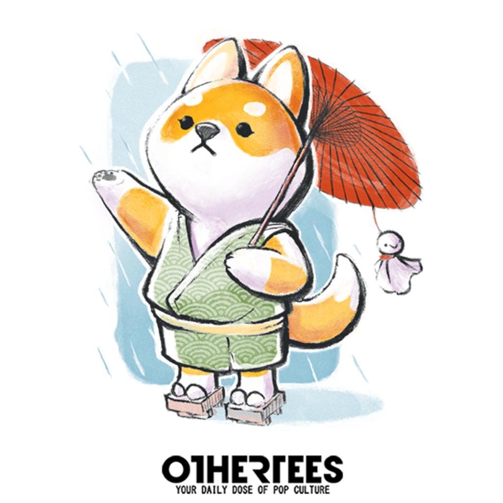 OtherTees: Shiba Inu Rain