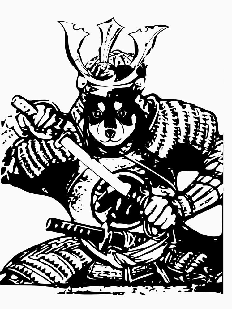 RedBubble: Shiba Inu Samurai
