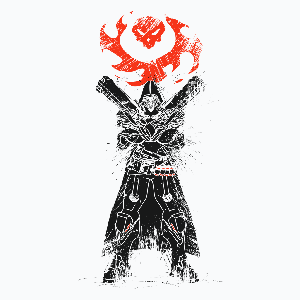 Pop-Up Tee: Traditional Reaper