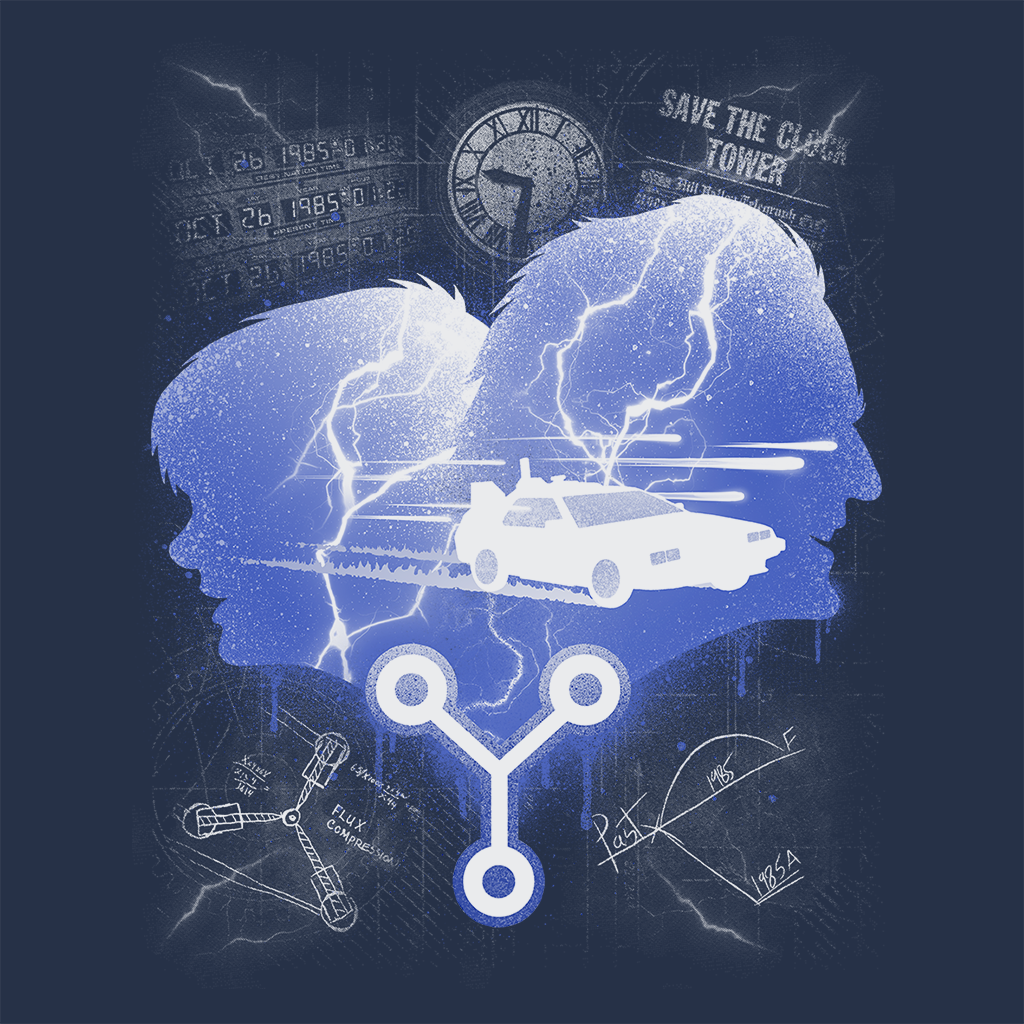 Pop-Up Tee: Time Travelers