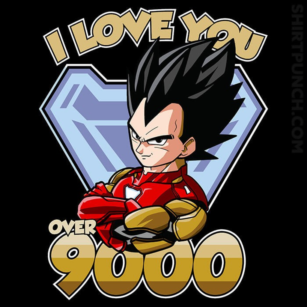 ShirtPunch: I Love You Over 9000