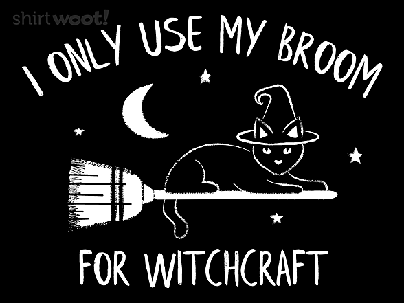 Woot!: No.1 Use for a Broom