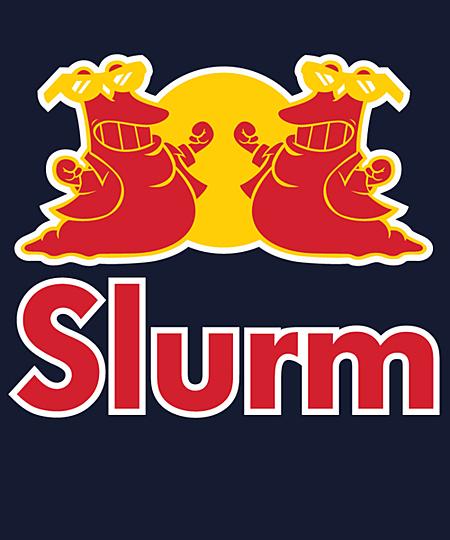 Qwertee: Slurm energy drink
