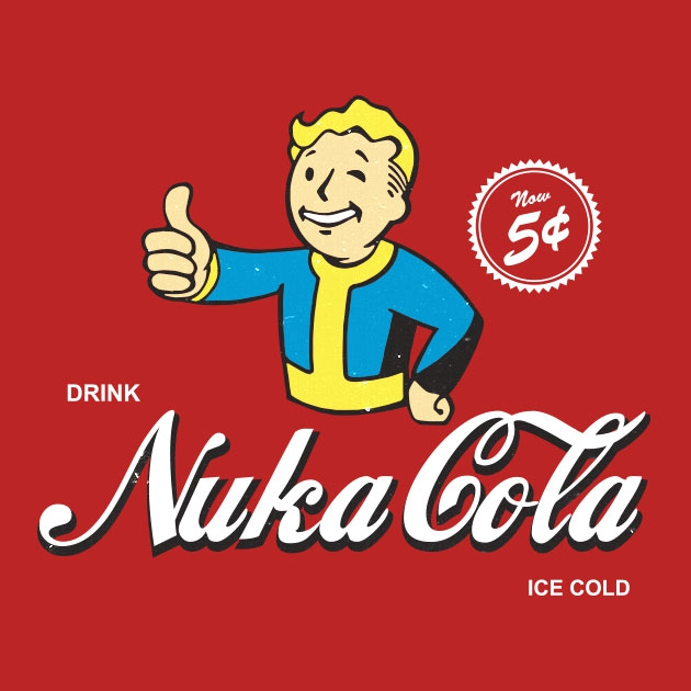 TeeTee: Drink Nuka Cola
