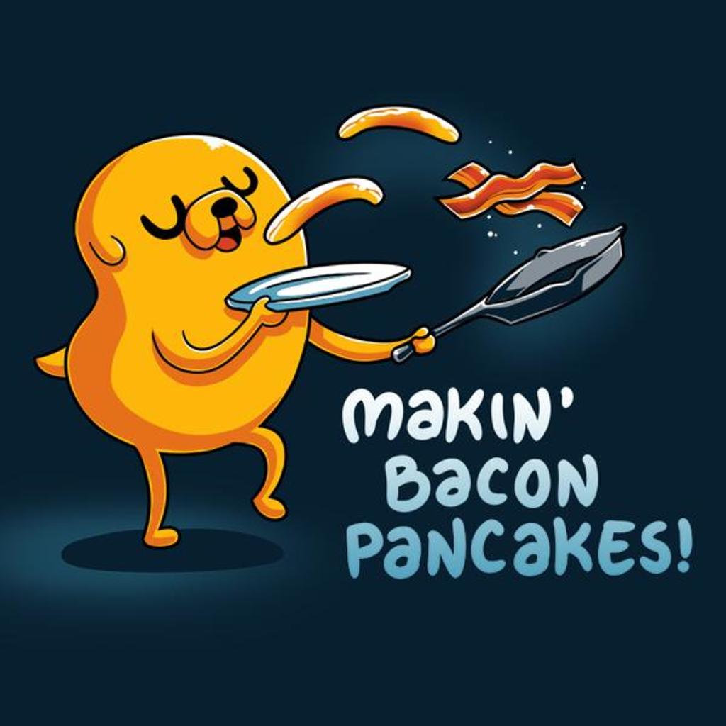 TeeTurtle: Bacon Pancakes