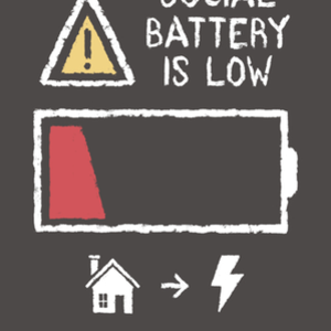 Qwertee: Low Social Battery