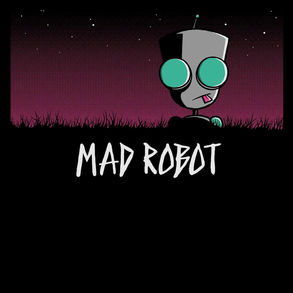 Pop-Up Tee: Mad Robot