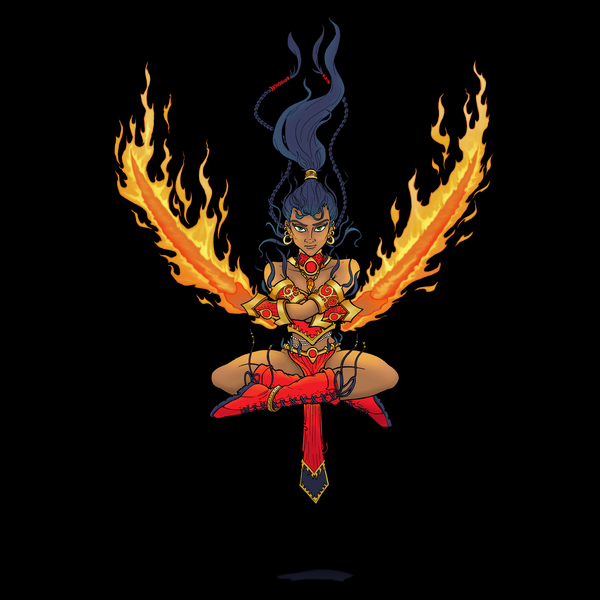 NeatoShop: Maiden of Fire T-Shirt