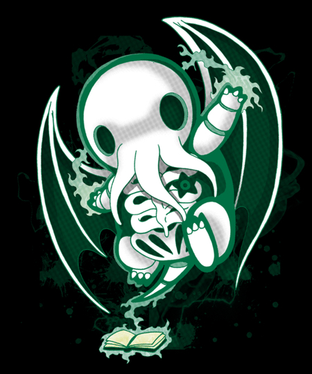 Qwertee: Godly Skeleton