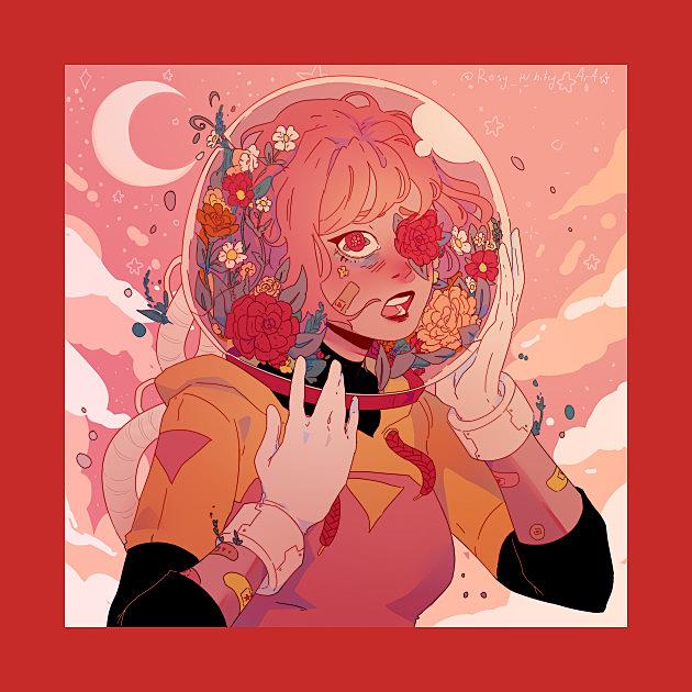 TeePublic: Floral Panic