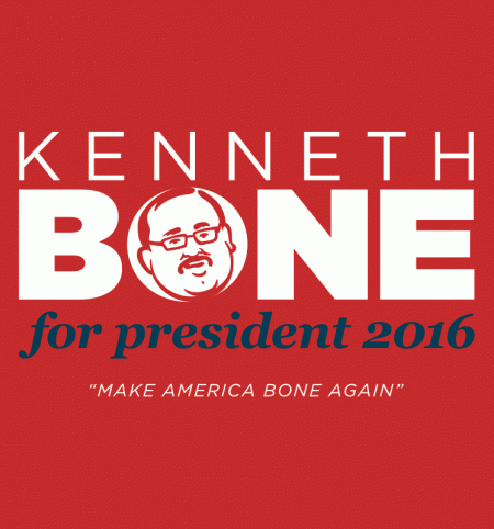 BustedTees: Bone for President